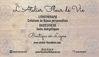 Photo Lithothérapie n°487 dans le département 58 par L'Atelier Fleur de Vie